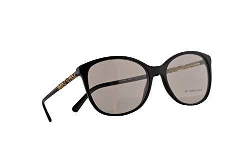 Burberry B 2245 Brille 54-17-140 Schwarze Mit Demonstrationsgläsern 3001 BE BE2245 B2245