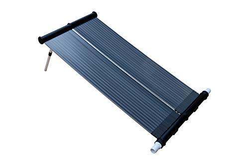 SPIRATO Calefacción solar para piscina, 80 x 120 cm, absorbente, colector para piscina con calefacción solar, 80 x 120 cm, colector para calefacción solar, colector de calefacción