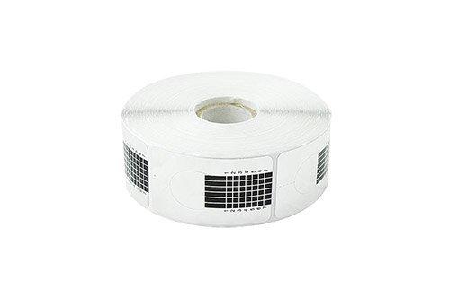 Crisnails® Moldes Guías Pegatinas Formas Para Manicura Uñas Tips Extenciones 500pcs (Normal Plateado)
