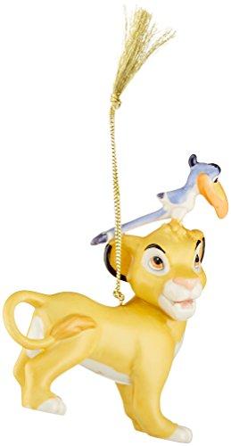 Lenox 870659 Disney Simba & Zazu Ornament