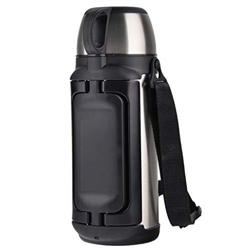 NLRHH Termo Taza de Acero Inoxidable de Gran Capacidad de Aislamiento Pot Copa portátil Grande Caliente del hogar Botella de Agua al Aire Libre Termo 1,49 litros Peng