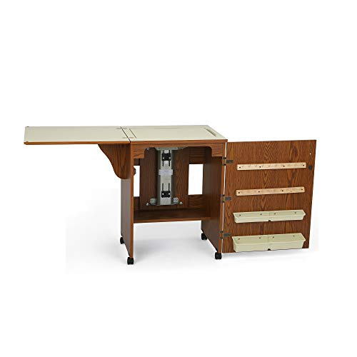 Arrow Cabinet 98500 Sewnatra Sewing Cabinet, Oak