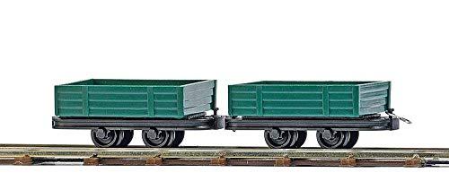 Busch - BUE12206 - Modélisme - 2 Wagons à Ridelles Basses