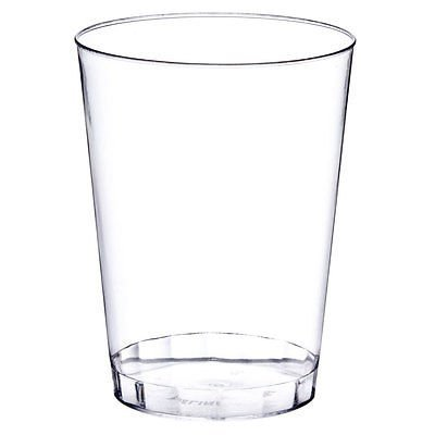 """"""" OCCASIONS"""" Wedding Party Disposable Plastic tumblers/cups (10 Oz Clear Tumbler, 100 pcs)"""