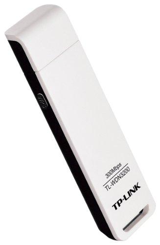 TP-Link TL-WDN3200 N600 Dual Band WLAN Adapter (bis zu 300 Mbit/s auf 2,4GHz oder 5GHz, WPS, Windows 8.x / Vista/ 7/ XP) weiß