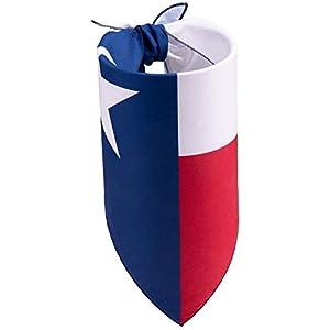 Texas State Flag Dog Bandana