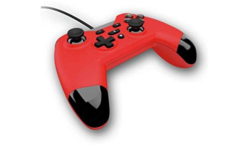 Gioteck Wx4 Wired Red Controller (Switch, PS3 & PC) (Nintendo Switch)