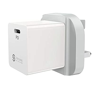 Syncwire USB C PD iPhone Charger - Power Delivery Type C Plug 18W for iPhone 12 mini/12 /12Pro/12Pro Max/SE 2020/11/11 Pro/11 Pro Max/XS/XR/X/8 Samsung S10 Huawei P30 Google Pixel Nintendo Switch