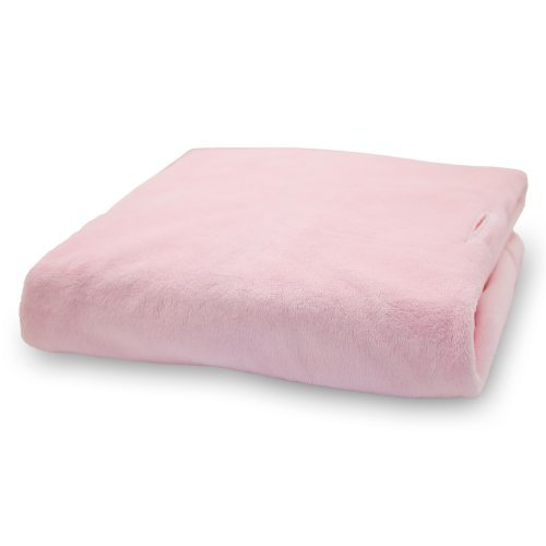 Rumble Tuff Silky Minky Changing Pad Cover, Pink,Compact by Rumble Tuff