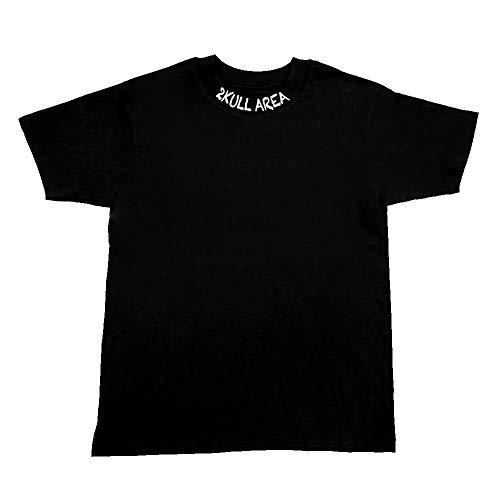 2KULL AREA T-Shirt Decision I Street-, URBAN-, Security-, Fight-, Vintage-, Sports- & Bikewear (Schwarz, M)