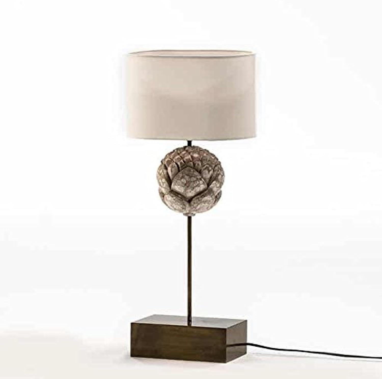 Tischleuchte aus Metall Holz weiß 56 cm, exklusives Produkt B01N17TX2Y | Große Klassifizierung