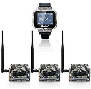 olymbros Z3 360 ° detector de movimiento de vigilancia de seguridad inalámbrica caza Trail de calavera