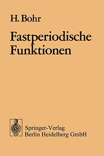 Fastperiodische Funktionen PDF Books