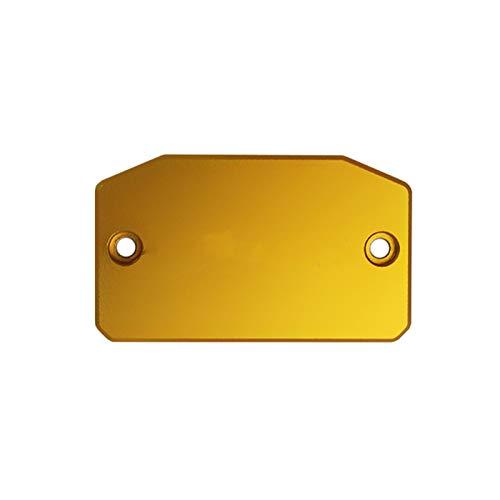 MADQW Capacidad De La Cubierta del Tanque De Combustible del Líquido del Freno De La Motocicleta/Fit For - Benelli / BN302 BN 302 2018 (Colore : Gold)