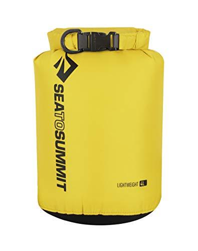 Sea to Summit Lightweight Dry Sack, All-Purpose Dry Bag, 4 Liter, Yellow