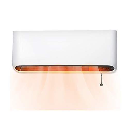 yankai Calefactores Electricos Calentador Doméstico Calentador Doméstico, Calefactor De Pared, Calefacción PTC, Ajuste De 3 Velocidades 160m / H³ Gran Volumen De Aire