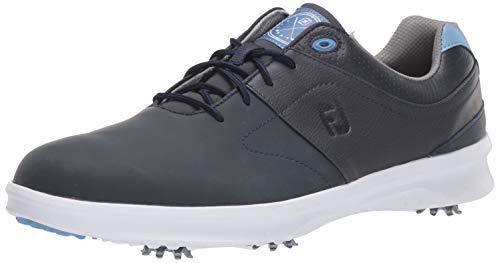 FootJoy Men's Contour Series Golf Shoes, Navy, 11.5 M US