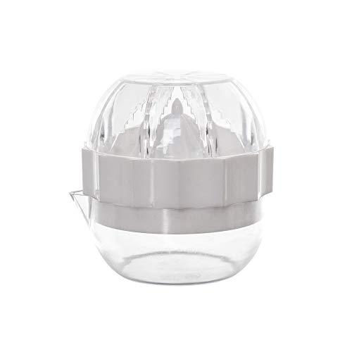Espremedor de Citrus, Metaltru, Transparente com Branco