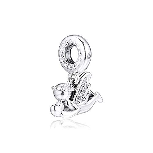 Diy Angel Of Love Dangle Winter Collection 925 Sterling Silver Charms For Bracelets Bangles Jewelry Making