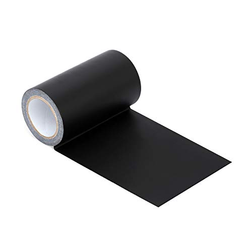 Azobur Leather Repair Tape Patch Leather Adhesive for Sofas, Car Seats, Handbags,First Aid Patch, Jackets(Black)