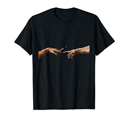 Michelangelo Pass the joint Weed Druffi Trippy T-Shirt
