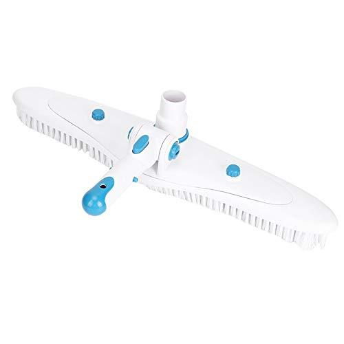 Gmkjh Cepillo de Piscina, Cepillo de Limpieza de Piscina, aspiradora extraíble, Accesorio de Cepillo de Limpieza de Suciedad para Mantenimiento de Piscinas
