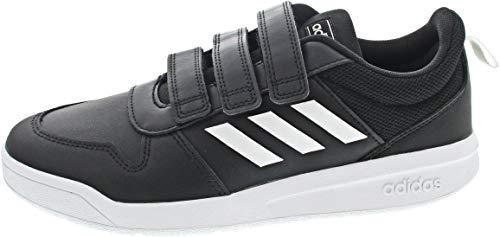 adidas Jungen Unisex Kinder Tensaur C Leichtathletik-Schuh, CBLACK/FTWWHT/CBLACK, 34 EU