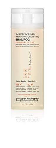 Giovanni 50:50 Balanced Hydrating Clarifying Organic Shampoo 250 ml