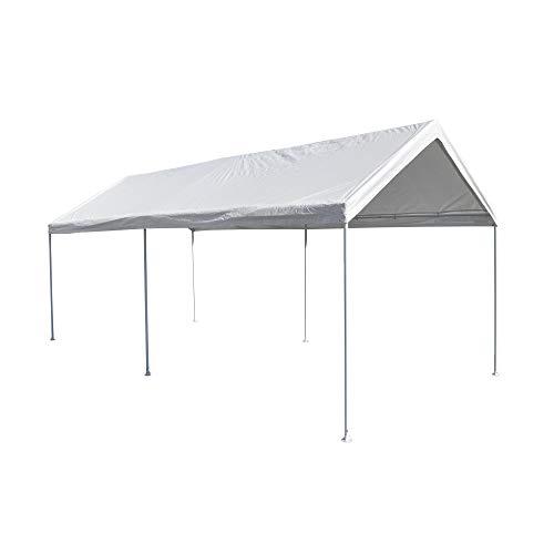 Caravan Canopy Domain Pro 150 10' x 15' Carport Shelter, White