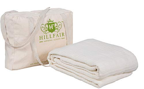 100 % Certified Organic Cotton Winter Blankets- Queen Size...