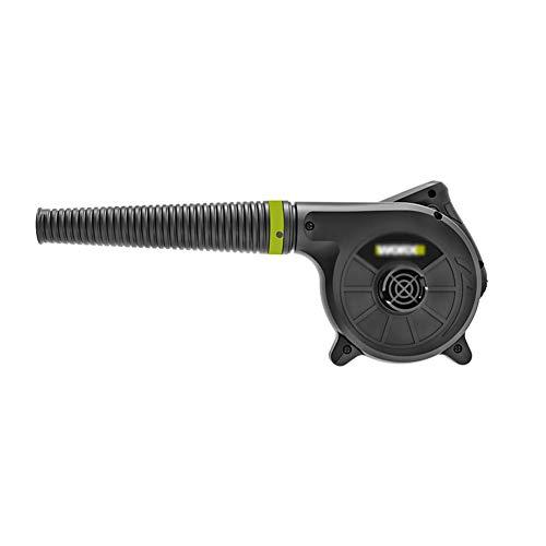 HIGHKAS Hochwertiges elektrisches Luftgebläse, elektrisches Laubgebläse Vakuum Gartenstaubsauger & Mulcher, mit Staubsammler