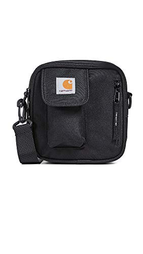 Carhartt WIP Herren Umhängetasche Essentials Bag, Small schwarz One Size
