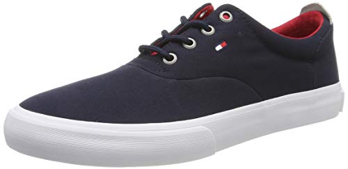 Tommy Hilfiger Herren CORE Thick Textile Sneaker, Blau (Midnight 403), 43 EU