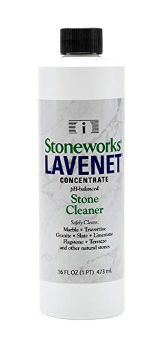 Lavenet Concentrate (1 Pint) pH-Balanced Cleaner for Marble, Granite, Travertine, Limestone, terrazzo, Slate, Flagstone and Other Natural Stones
