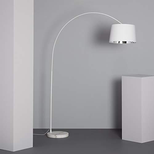 LEDKIA LIGHTING Lampada da Terra Reflect Bianco