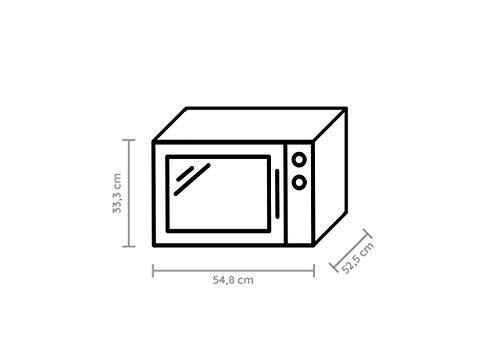 Bauknecht MW 80 SL Mikrowelle mit 2100 W und 30 L Garraum   inkl. Crisp-Funktion   Silber