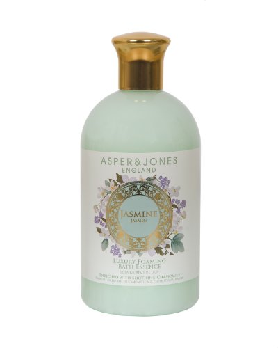Asper & Jones Jasmine Foaming Bath Essence 500ml, 1er Pack (1 x 500 ml)