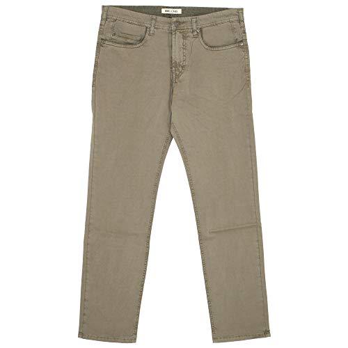 Mac Jeans, Ben Pipe, Herren Herren Jeans Hose Gabardine Stretch Hellolivegrün W 32 L 34 [21205]