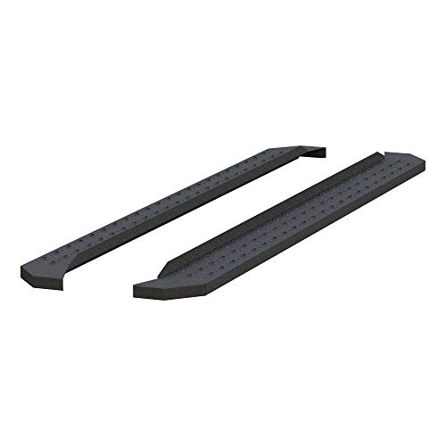 ARIES C2891 RidgeStep Black Steel 91-Inch Truck Running Boards, Brackets Sold Separately, 6.5""
