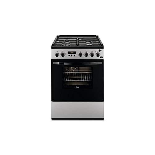 Cuisiniere gaz Faure FCM656HPSA - Silver - Classe...