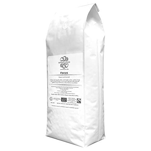 Mindful Coffee - Focus   Organic Bulletproof Ground Coffee   Lab Tested   Freshly Roasted  Single Origin Speciality 