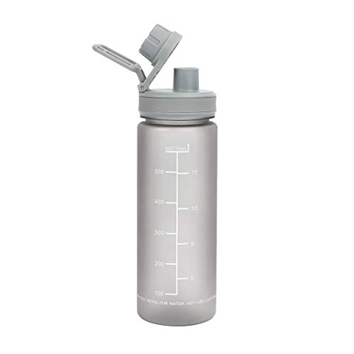 HAUSHOF Bottiglia per l'Acqua, Senza BPA 700ml, Borraccia Sportiva Riutilizzabile, a Prova di Perdite