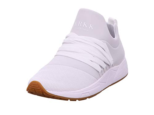 ARKK Copenhagen Damen Sneaker Raven Mesh S-E15 White Gum-W EL1422-0010-W weiß 748083