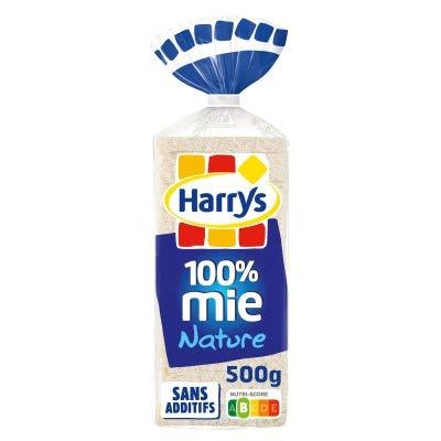 Harry's Pain 100% Mie Nature le Paquet de 500 g