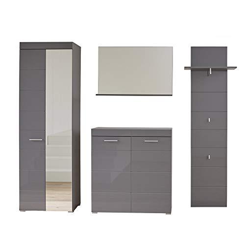 trendteam smart living 4-teilige Set Kombination, Holz, 233 x 195 x 38 cm