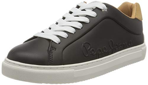 Pepe Jeans London Damen Adams LOGO20 Sneaker, 999BLACK, 38 EU