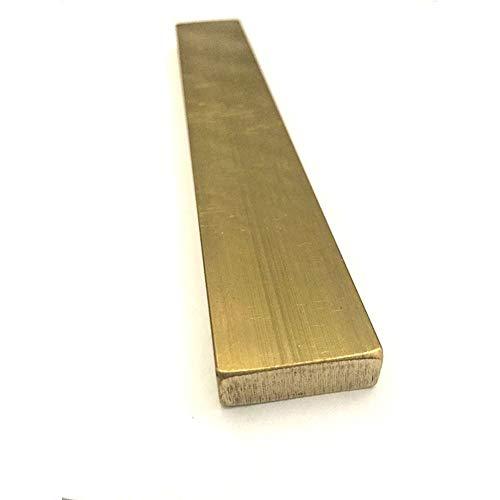 Messing-Flachstange für industrielle rechteckige Messingstangen Stärke 3/4/5/8/10 mm Breite 10/15/20/30/40 mm Länge 100/150/200/300 mm, 11:3x20x200mm, 1