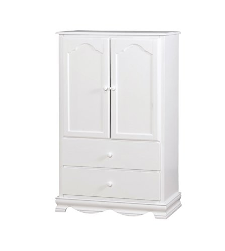 HOMES: Inside + Out Belcher Armoire White