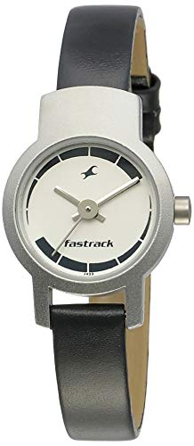 Fastrack Core Analog Black Dial Women's Watch -NK2298SL04