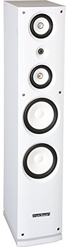 Madison MAD-858F-WH - Altavoz Hi-Fi de 180 W, color blanco